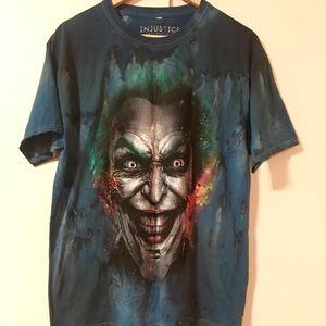 Other - Injustice Joker Men's T shirt color Blue L